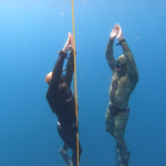 never dive alone, PADI Freediver, freediving courses, freediving training Quepos Costa Rica Spearfishing Blue water hunting reef spearfishing
