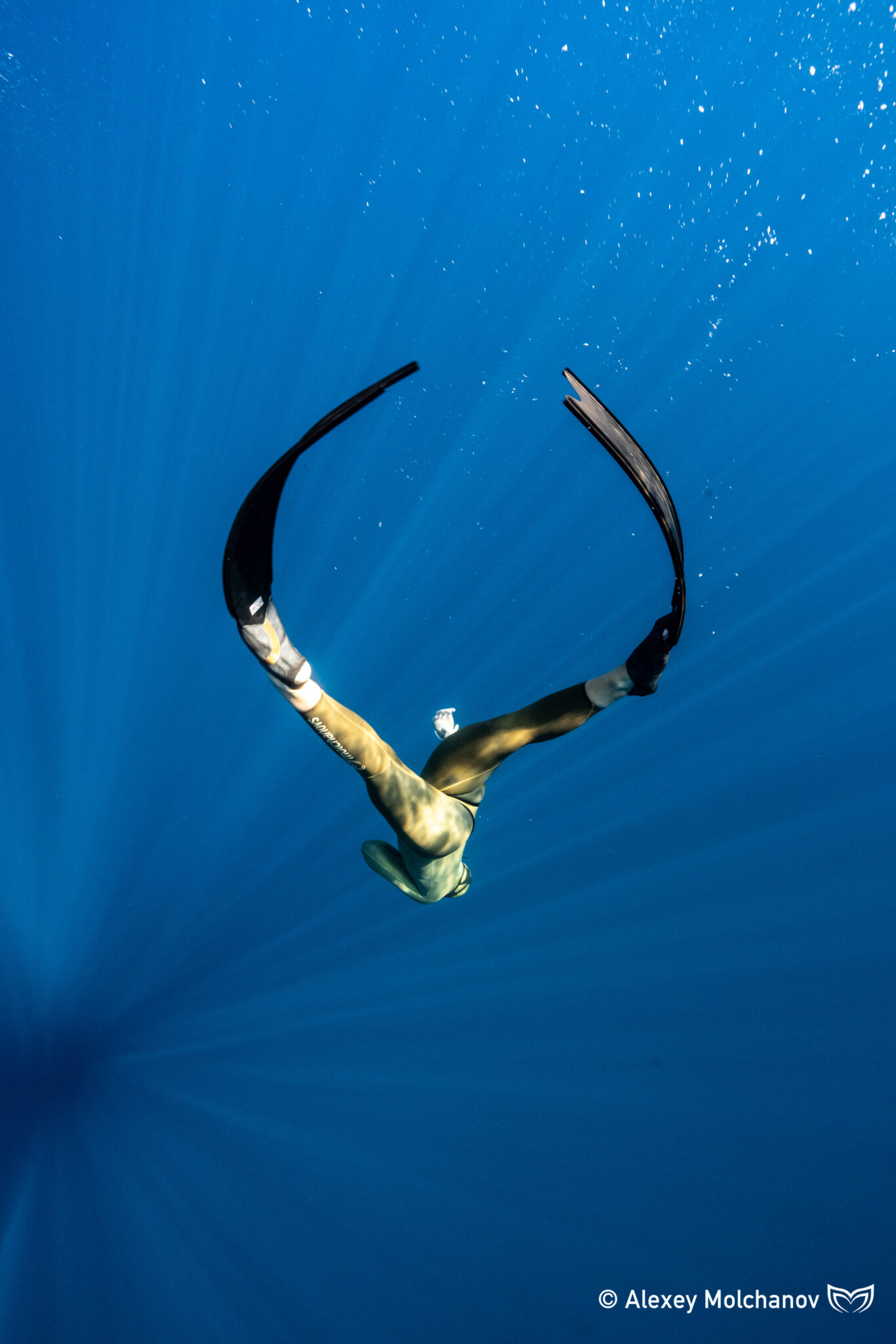 Experience freediving